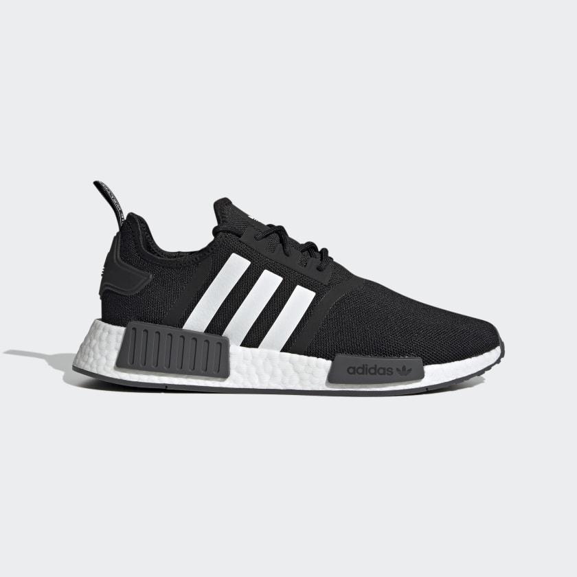 adidas NMD_R1 Primeblue Shoes - Black | adidas US
