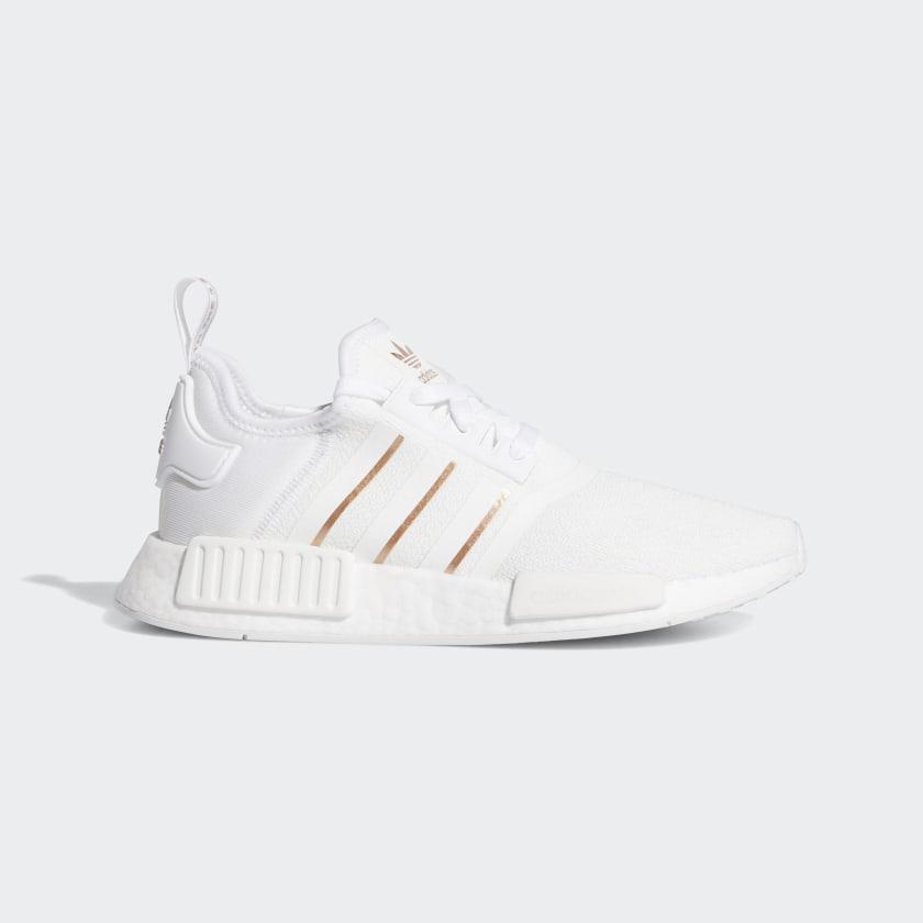 adidas NMD_R1 Shoes - White | adidas US