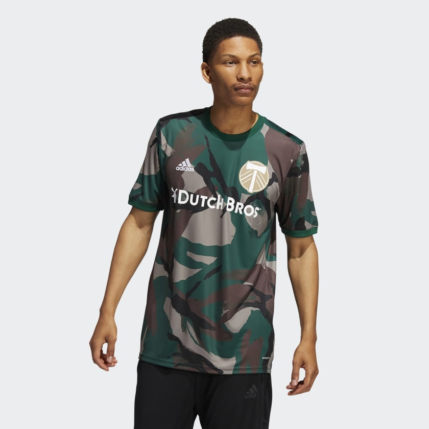 adidas Portland Timbers Camo Pre-Match Jersey - Multi | adidas US