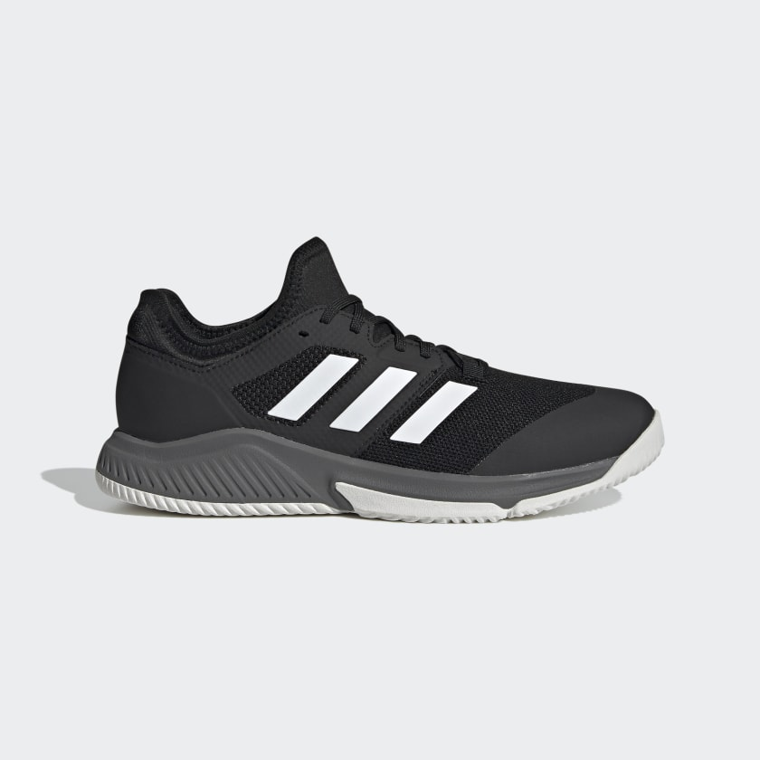 adidas Court Team Bounce Indoor Shoes - Black   adidas US