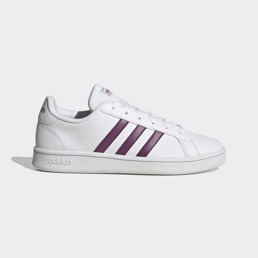 adidas Grand Court Base Shoes - White   adidas US