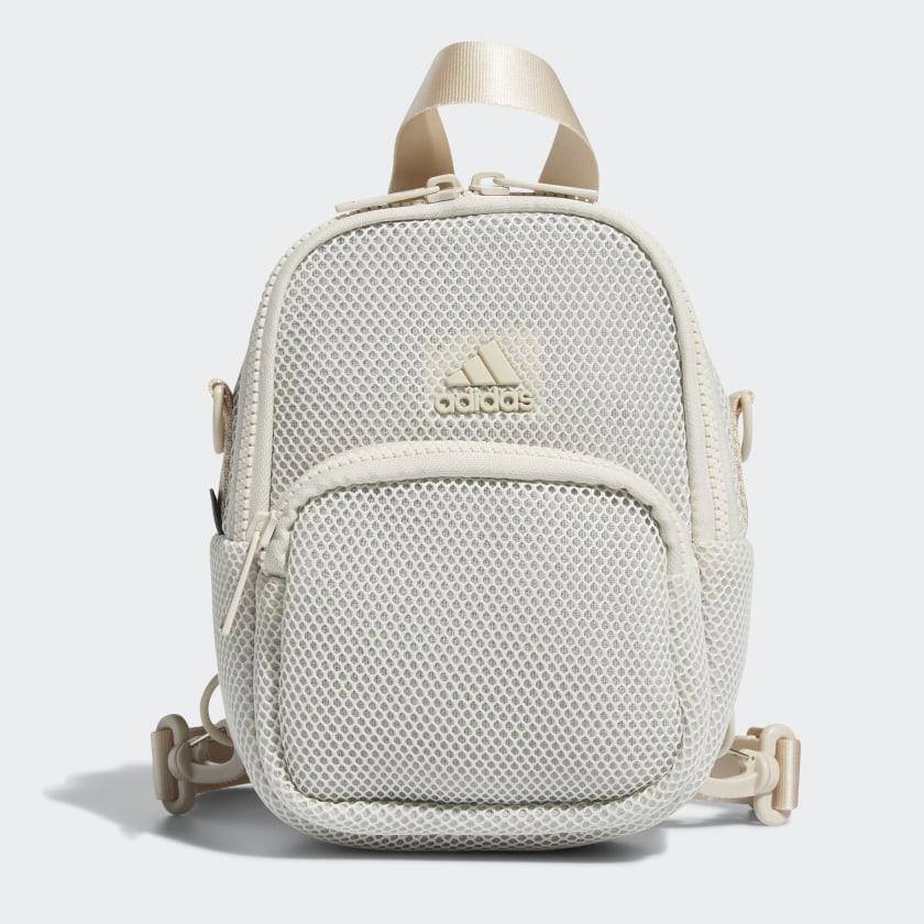 adidas Air-Mesh Mini Backpack - Beige   adidas US