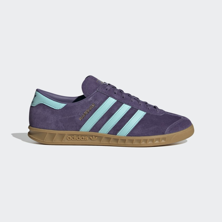 adidas Hamburg Shoes - Purple | adidas US