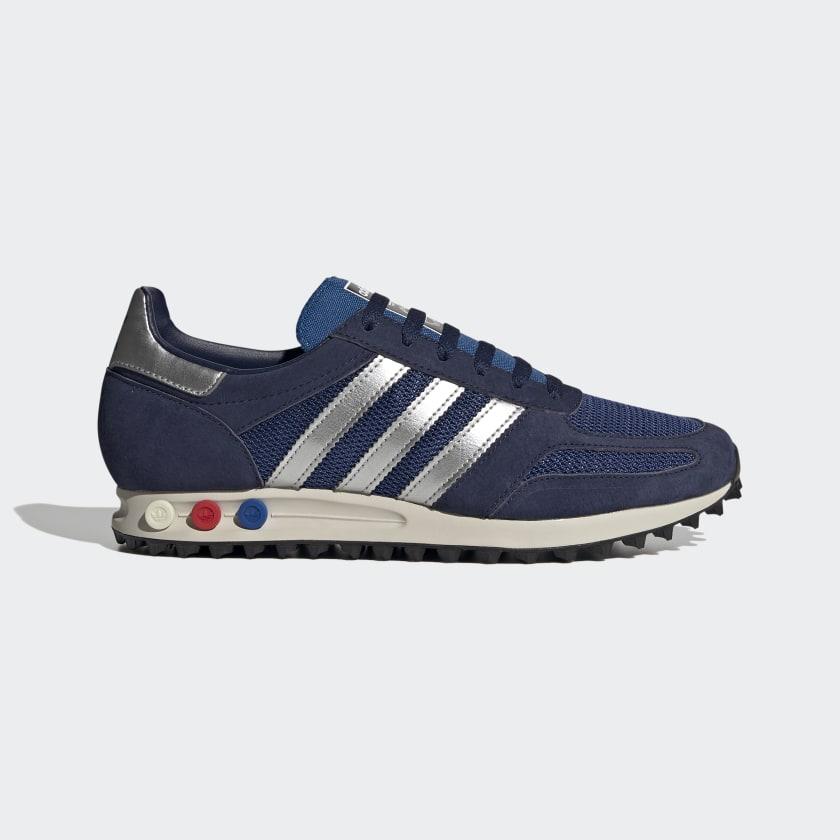 adidas LA Trainer Shoes - Blue | adidas Canada