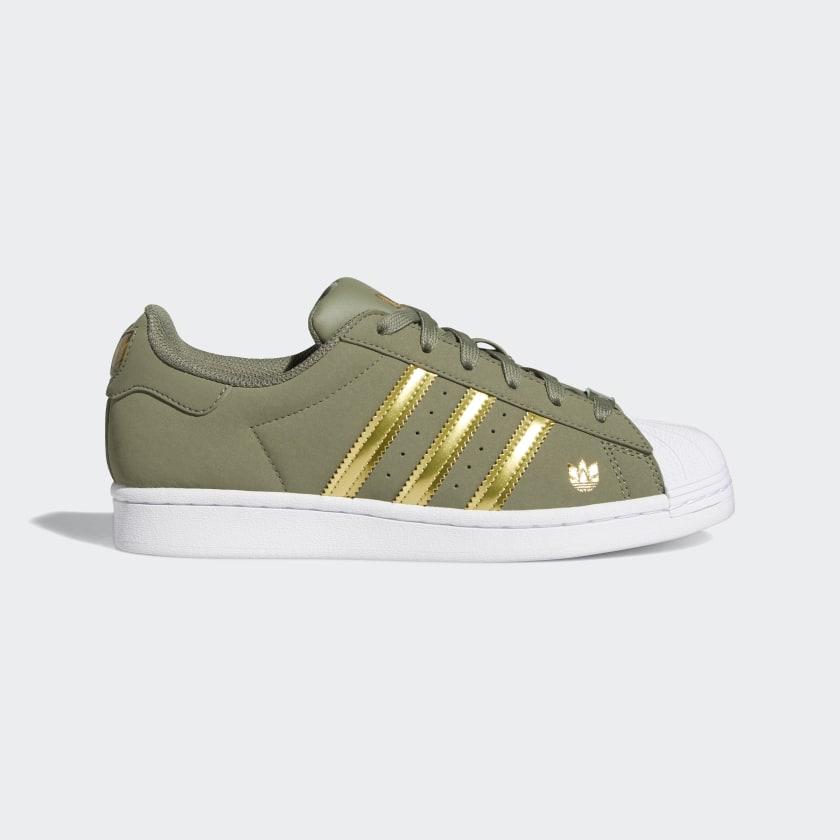 adidas Superstar Shoes - Green | adidas US
