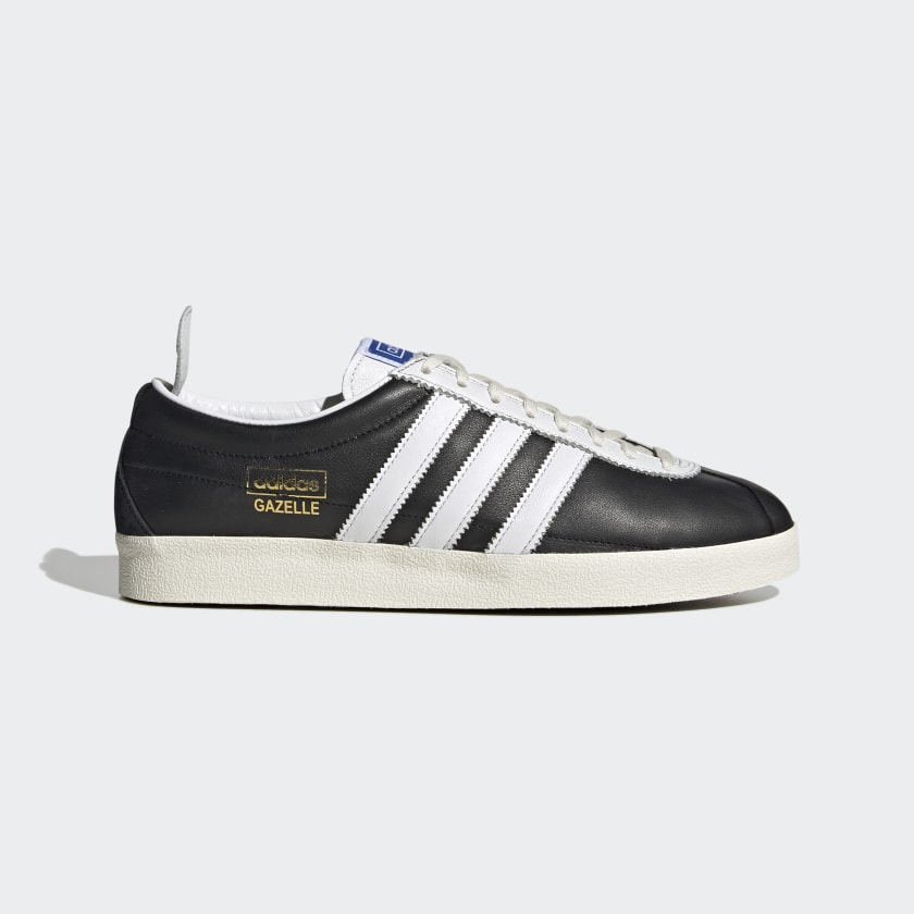 adidas Gazelle Vintage Shoes - Black | adidas US