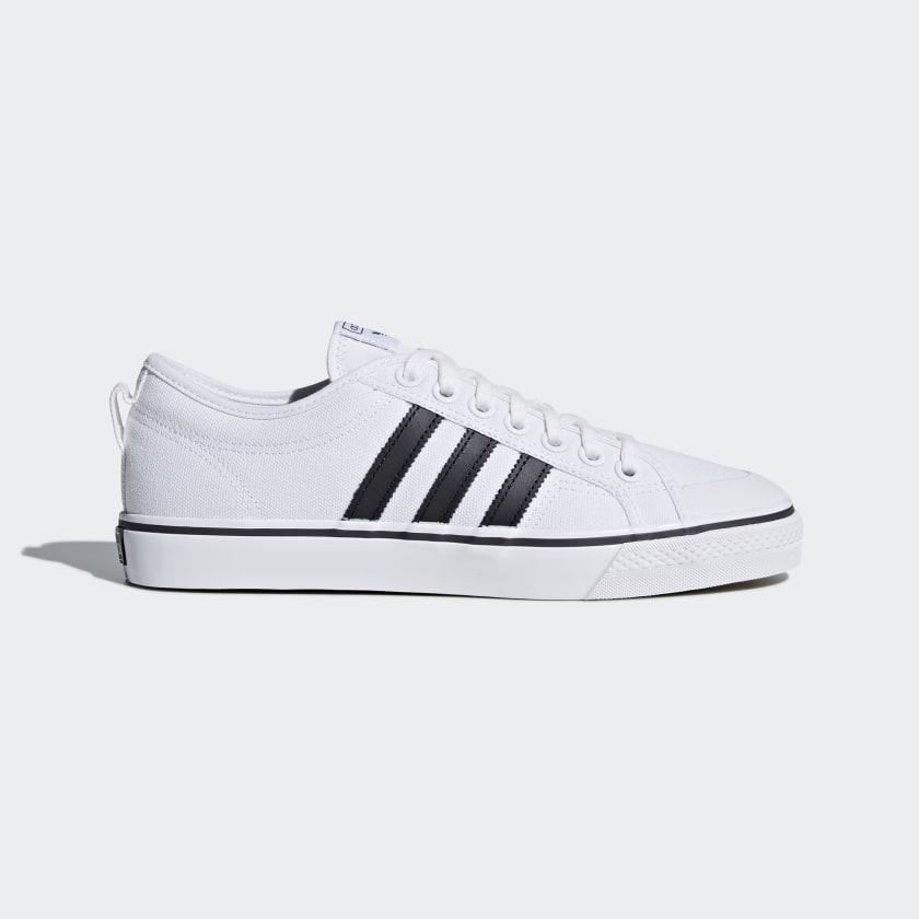 adidas Nizza Shoes - White | adidas US