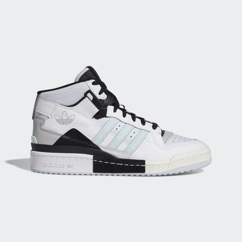 adidas Forum Exhibit Mid Shoes - White   adidas US