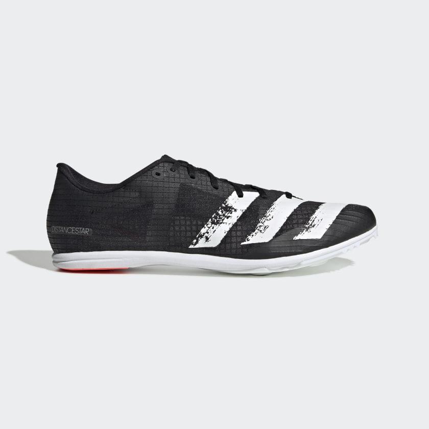adidas Distancestar Spikes - Black   adidas US