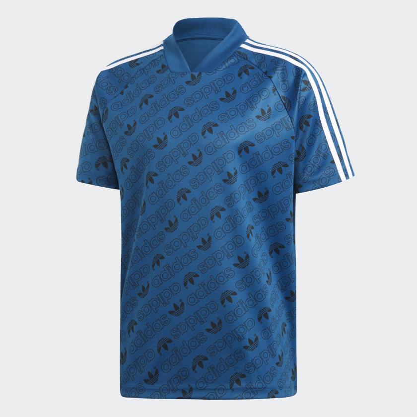 adidas Monogram Jersey - Blue | adidas Turkey