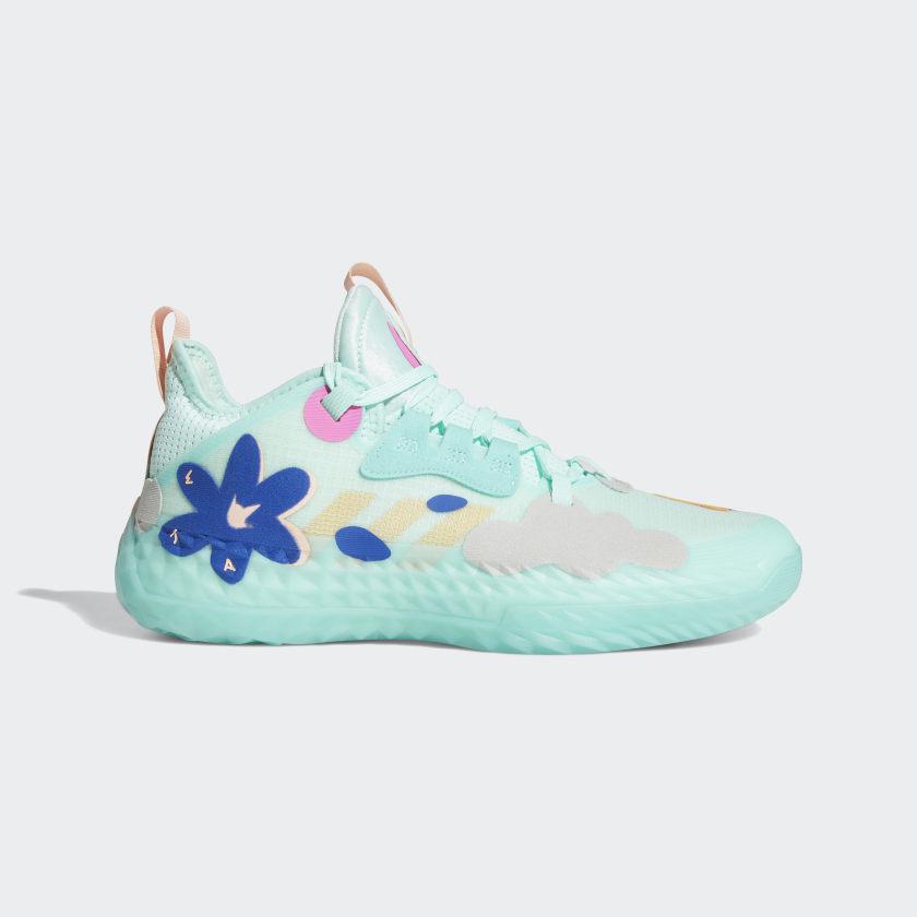 adidas Harden Vol. 5 Futurenatural Shoes - Turquoise | adidas US