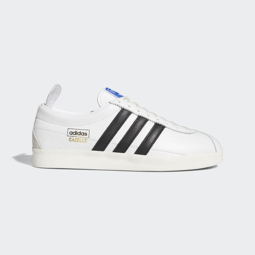 adidas Gazelle Vintage Shoes - White | adidas US