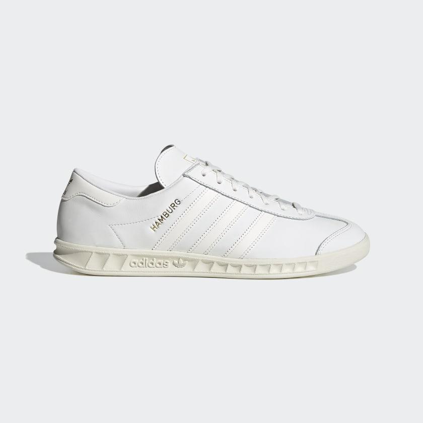 adidas Hamburg Shoes - White | adidas Australia