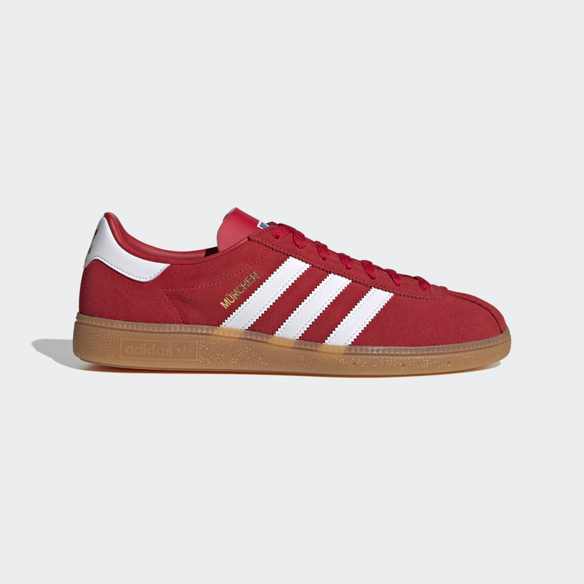 adidas München Shoes - Red   adidas US