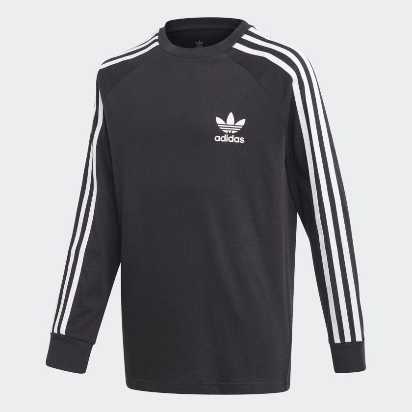 adidas 3-Stripes Tee - Black | adidas US