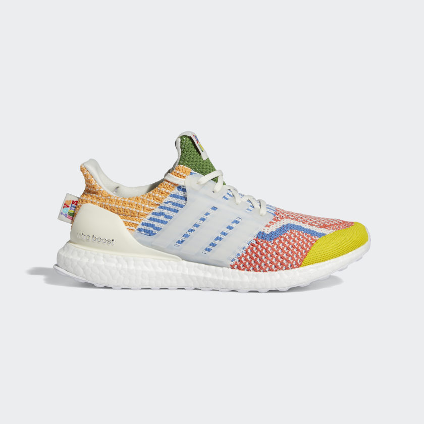 adidas Ultraboost 5.0 DNA Pride Shoes - White | adidas US