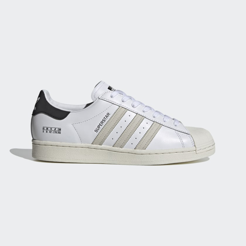 Superstar Cloud White, Black and Off