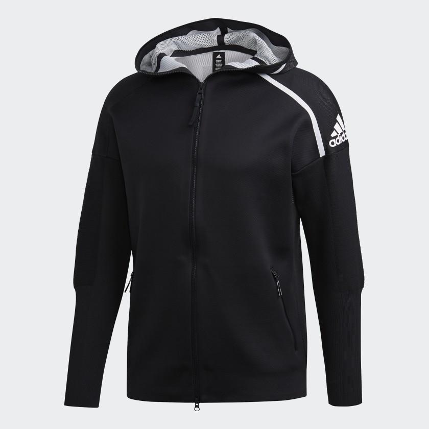 adidas Z.N.E. Primeknit Hoodie - Black