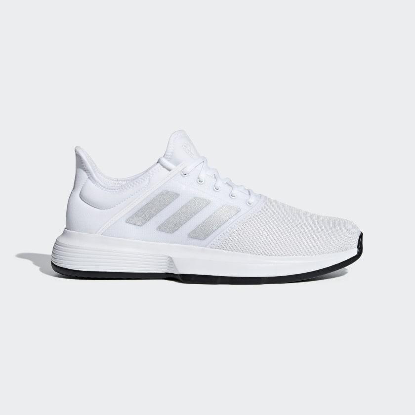 adidas GameCourt Shoes - White   adidas US