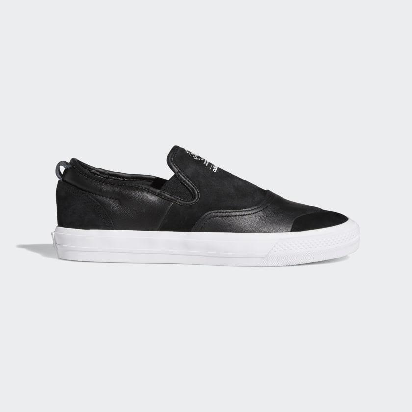 adidas Nizza RF Slip-on Shoes - Black