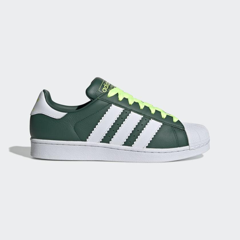 adidas Superstar Shoes - Green | adidas