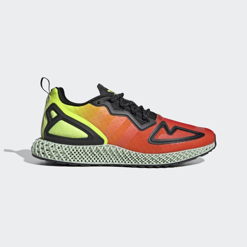 adidas ZX 2K 4D Shoes - Yellow | adidas US