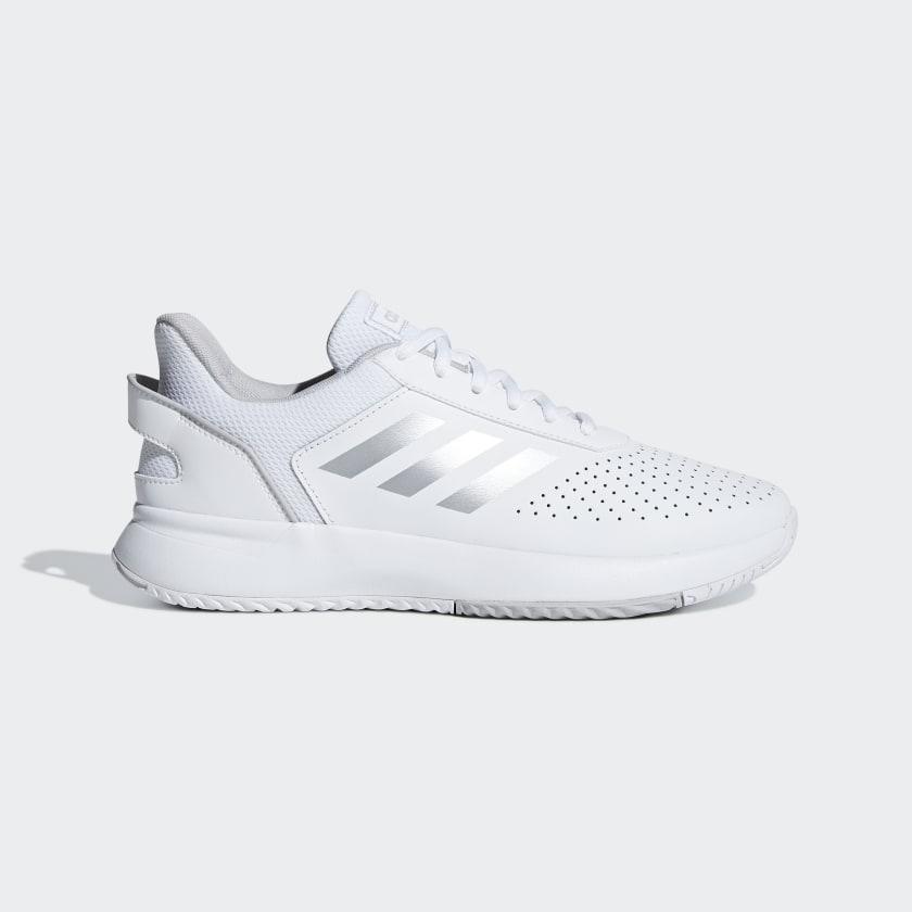 adidas Courtsmash Shoes - White
