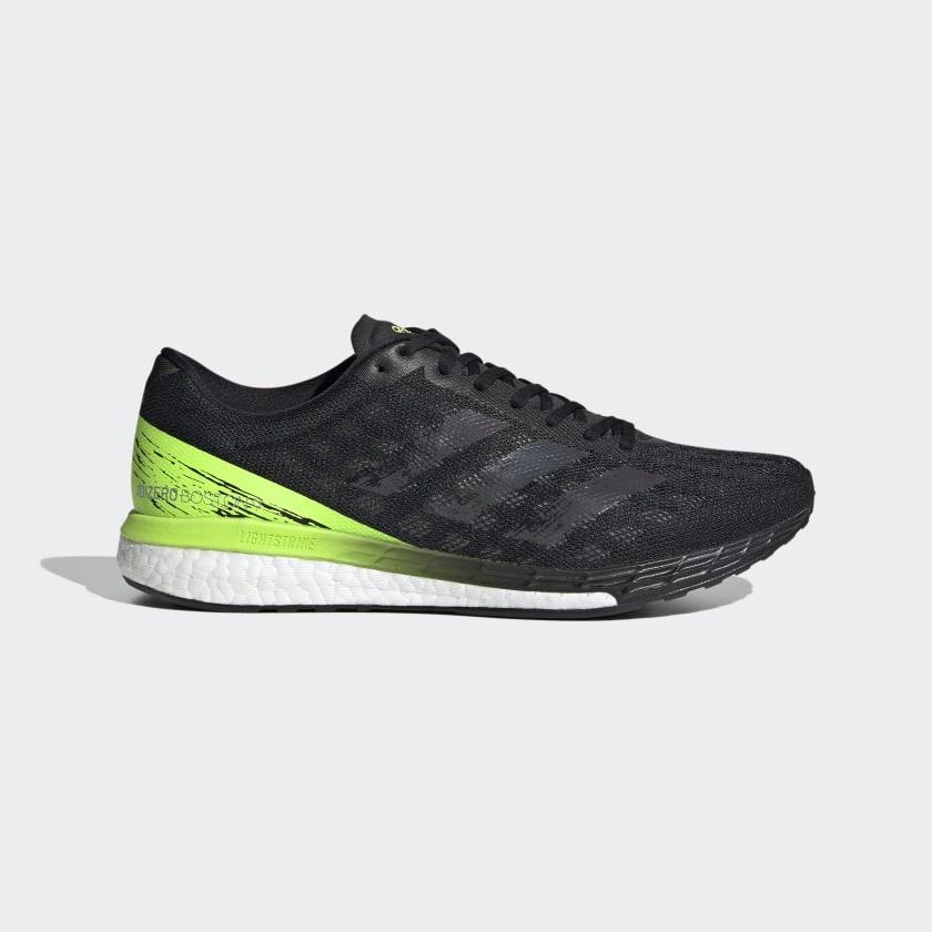 adidas Adizero Boston 9 Shoes - Black