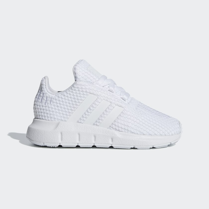 Toddler Swift Run All White Shoes