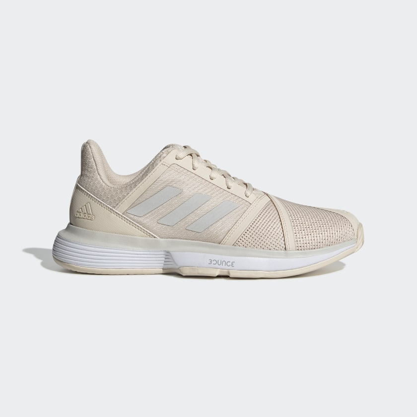 adidas CourtJam Bounce Shoes - Beige | adidas US