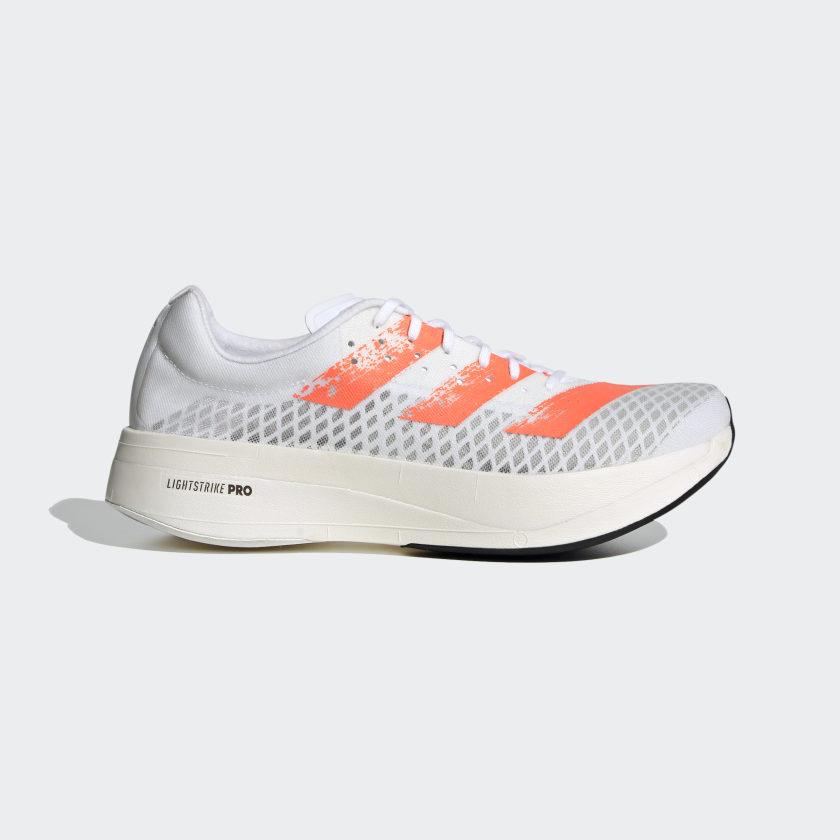 adidas Adizero Adios Pro Running Shoes - White | adidas US