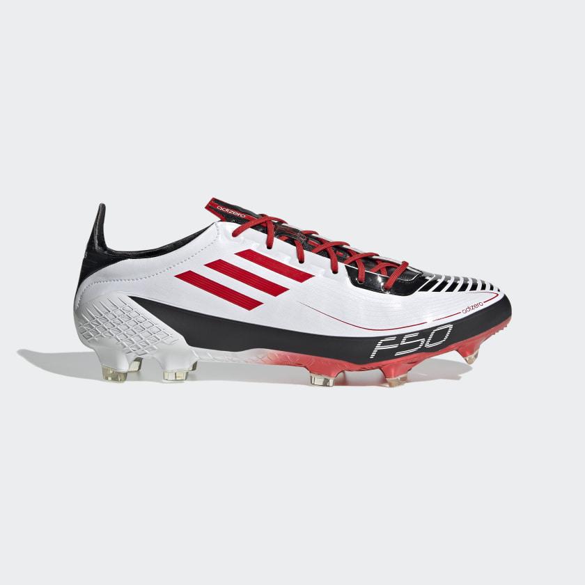 grado Aplicable Delegación  adidas F50 Ghosted Adizero Prime Firm Ground Boots - White | adidas UK