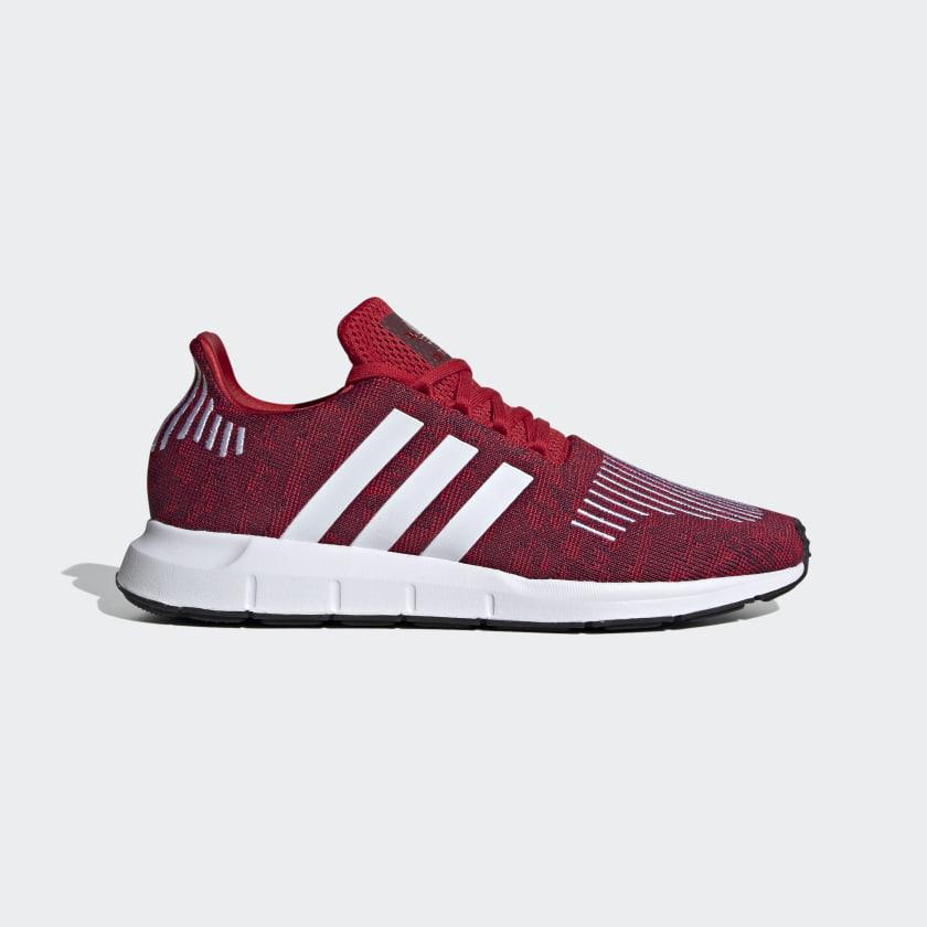 adidas swift run maroon