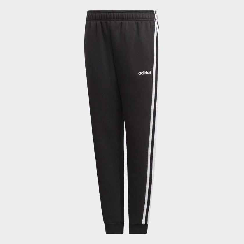 adidas Essentials 3 Stripes Bukse Svart | adidas Norway