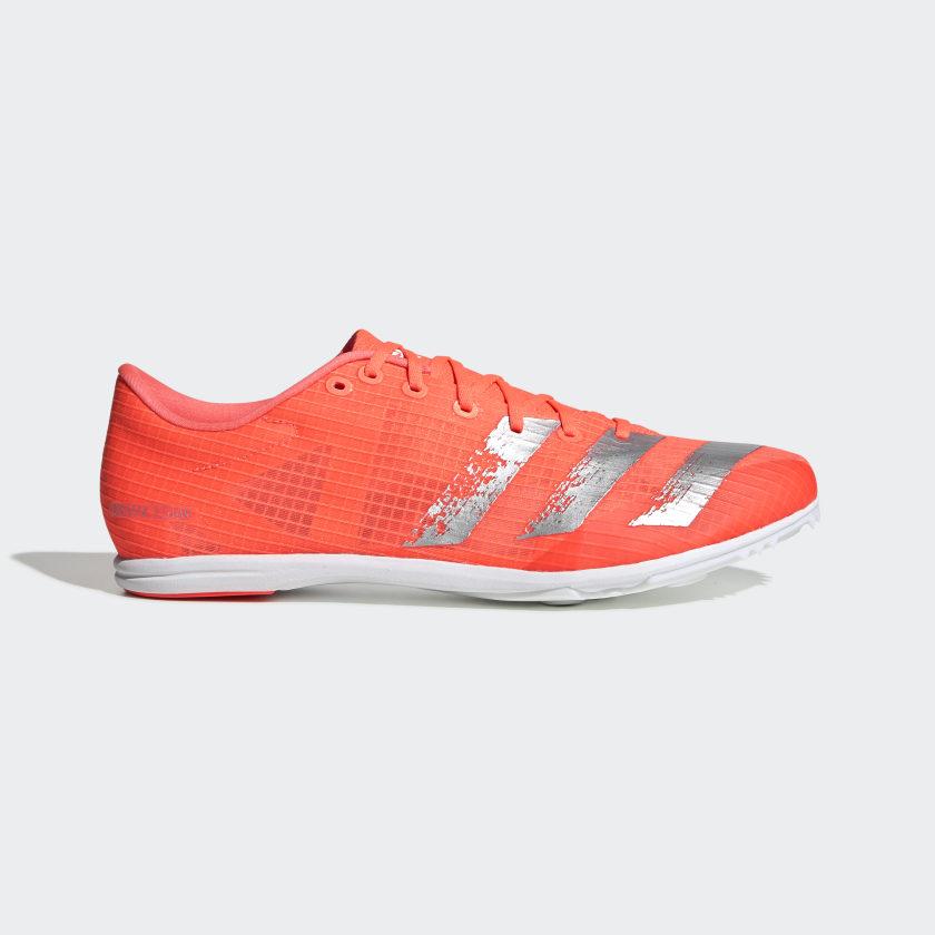 Black adidas Distancestar Womens Running Spikes