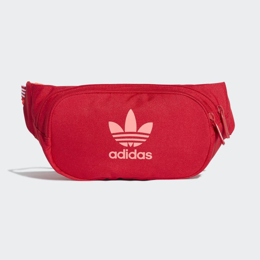 envase Perjudicial Sabroso  Bolso Cruzado Essential (UNISEX) - Rojo adidas | adidas Chile