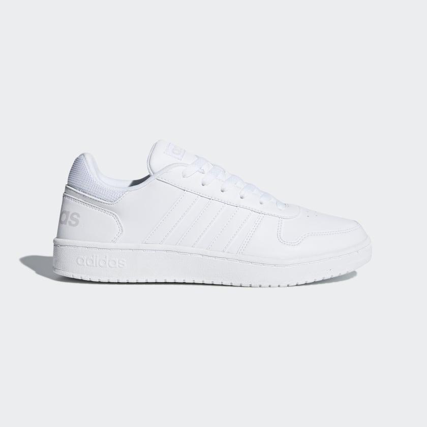 adidas Hoops 2.0 Shoes - White   adidas US