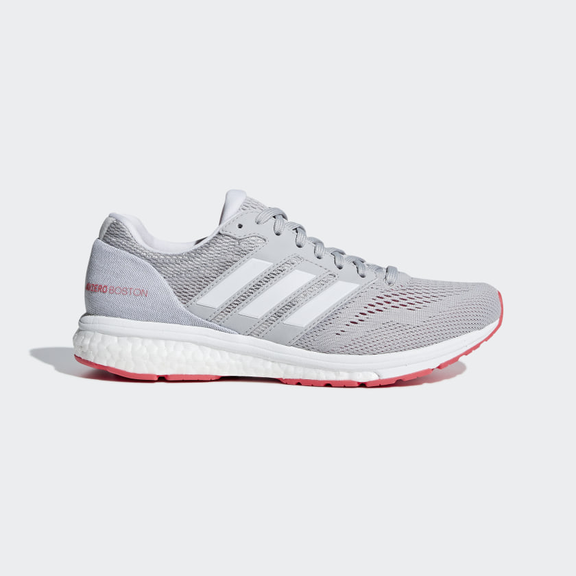 adidas Adizero Boston 7 Shoes - Grey