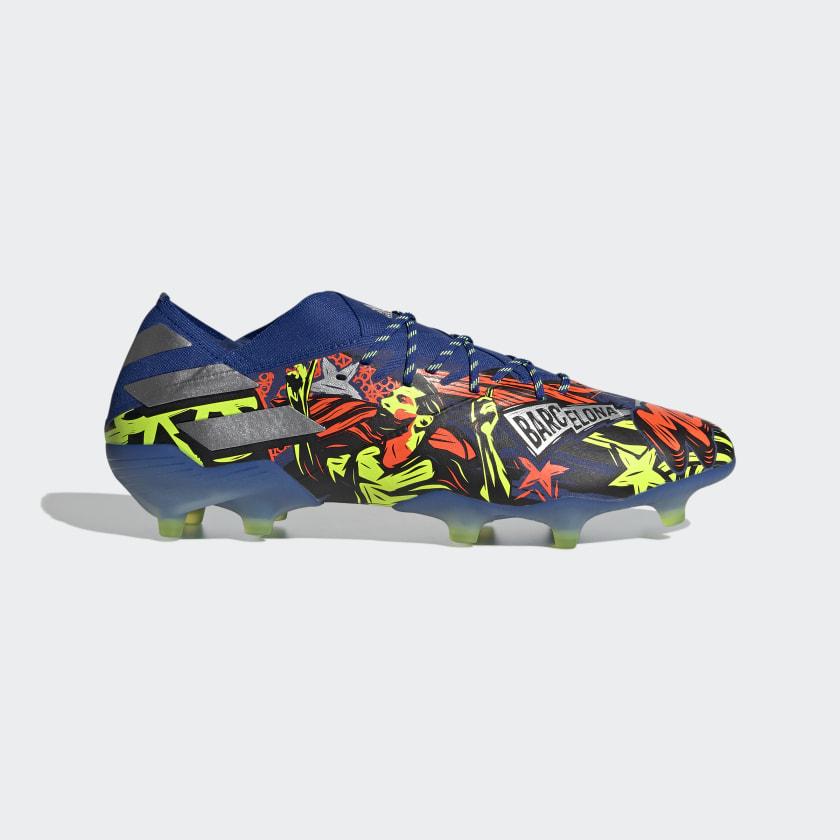 adidas Nemeziz Messi 19.1 Firm Ground Cleats - Blue | adidas US