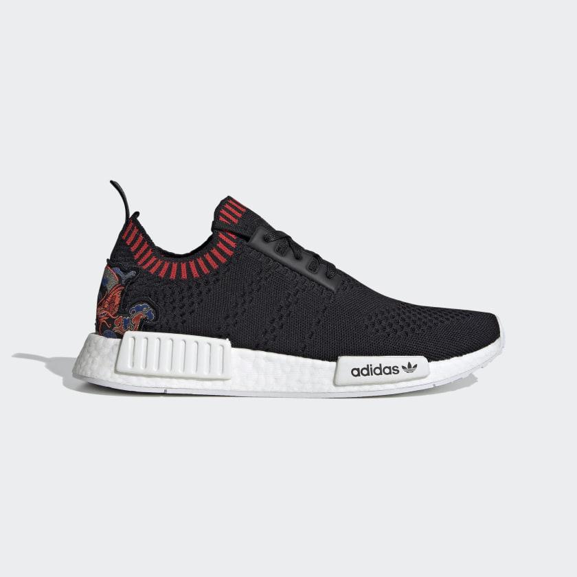 adidas NMD_R1 Primeknit Shoes - Black