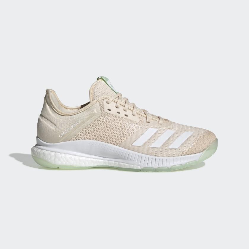 adidas Crazyflight X 3 Shoes - Beige | adidas US