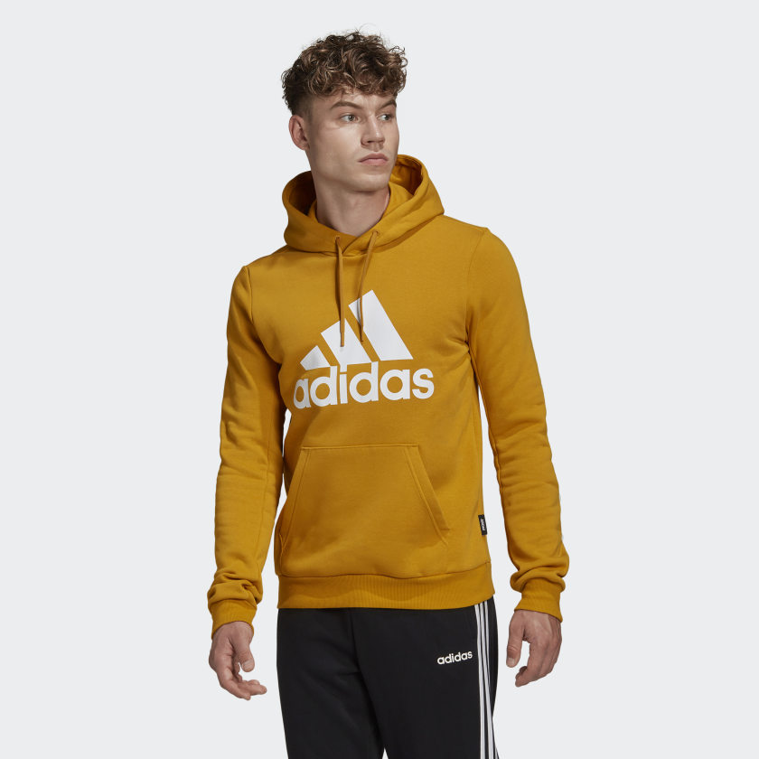 adidas Badge of Sport Fleece Genser Grå | adidas Norway