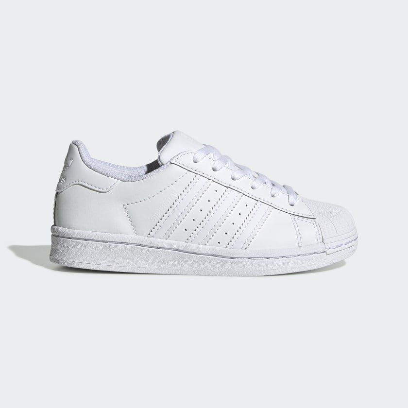 Kids Superstar All White Shoes | adidas US