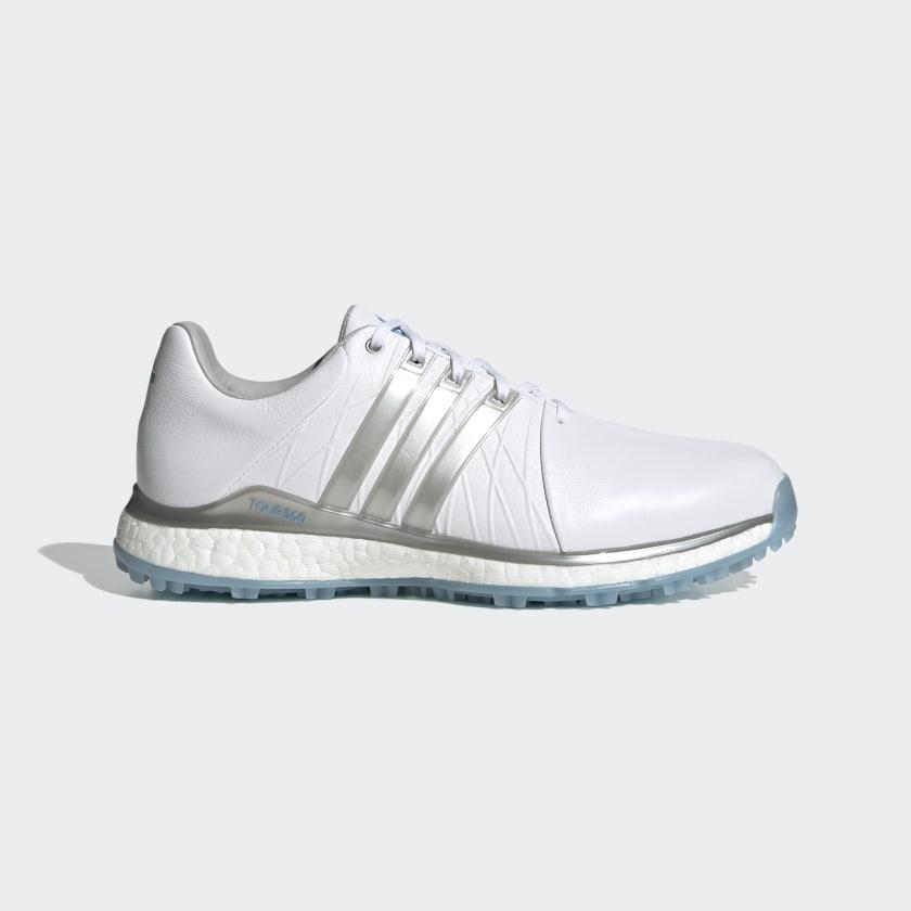 adidas TOUR360 XT-SL Spikeless Golf Shoes - White | adidas US