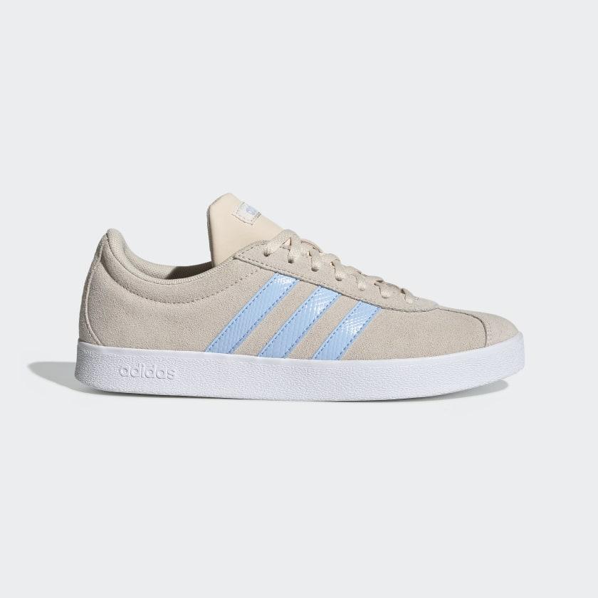 adidas VL Court 2.0 Shoes - Beige