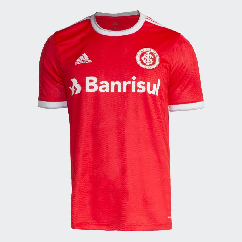 Camisa Internacional Vermelho Adidas Adidas Brasil