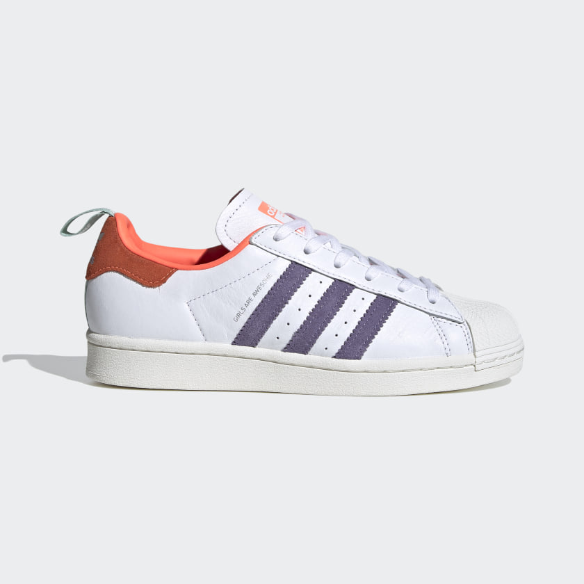 Adidas Superstar Girls Are Awesome Shoes White Adidas Us