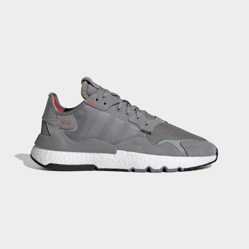 adidas Кроссовки Nite Jogger - серый