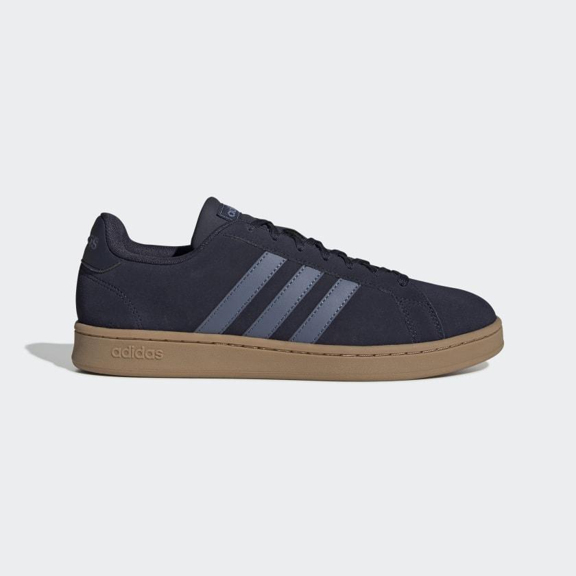 adidas Grand Court Shoes Blå | adidas Sweden