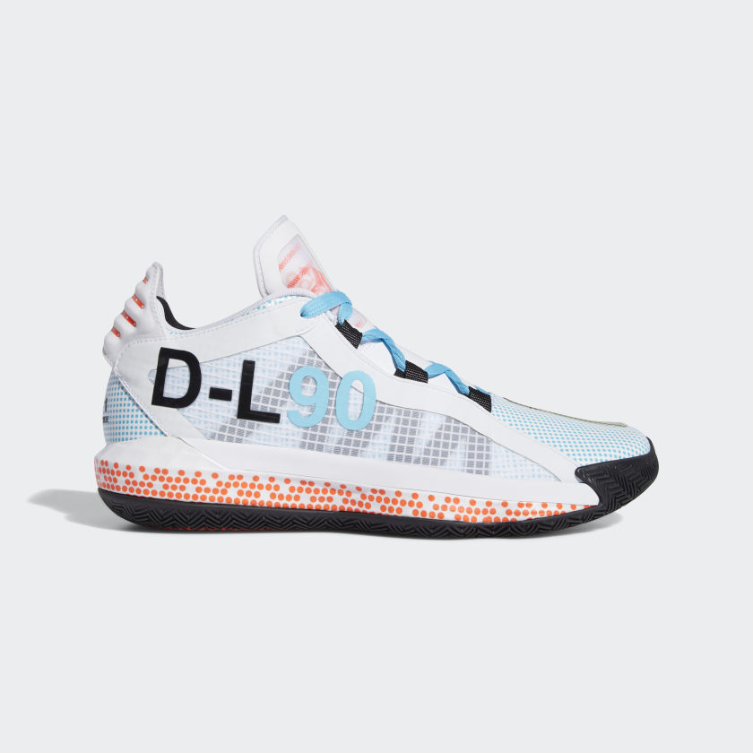 adidas Dame 6 x Pusha T Shoes - White | adidas US